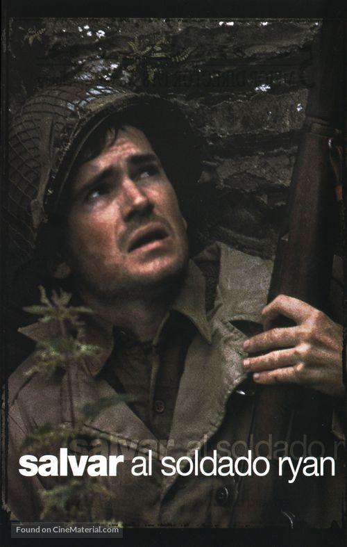Saving Private Ryan - Spanish Movie Cover