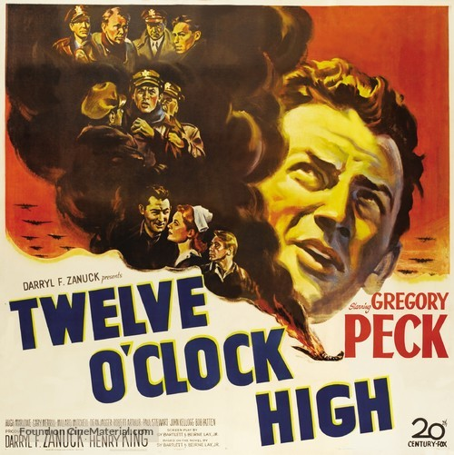 Twelve O'Clock High - Movie Poster