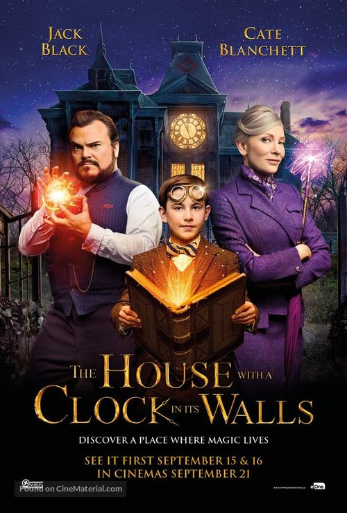 The House with a Clock in its Walls - British Movie Poster