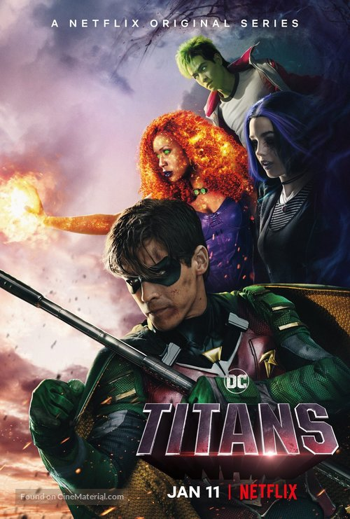 Titans - British Movie Poster