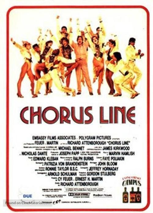A Chorus Line - Italian Movie Poster