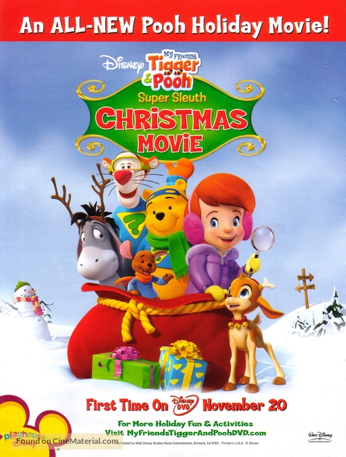 Pooh's Super Sleuth Christmas Movie - poster