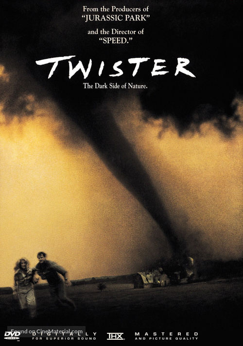 Twister - DVD movie cover
