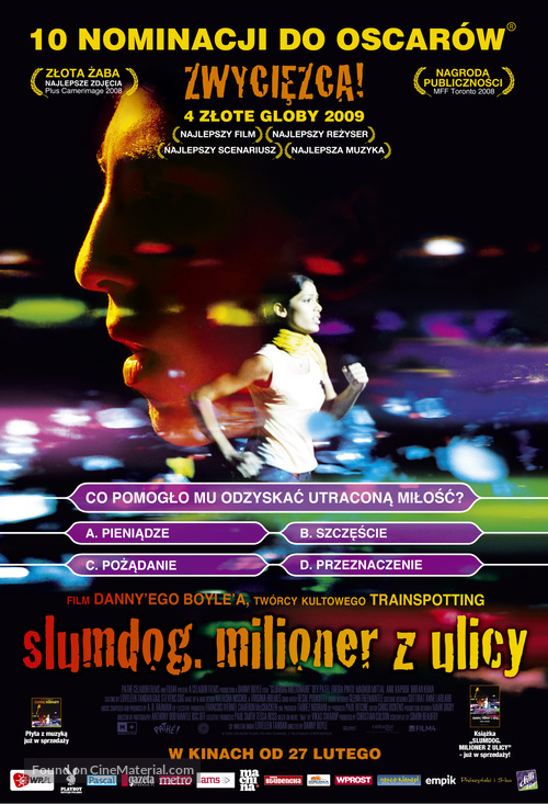 Slumdog Millionaire - Polish Movie Poster