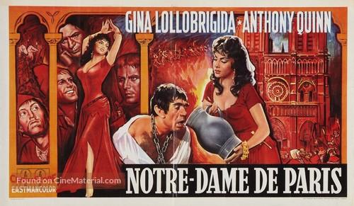 Notre-Dame de Paris - Belgian Movie Poster