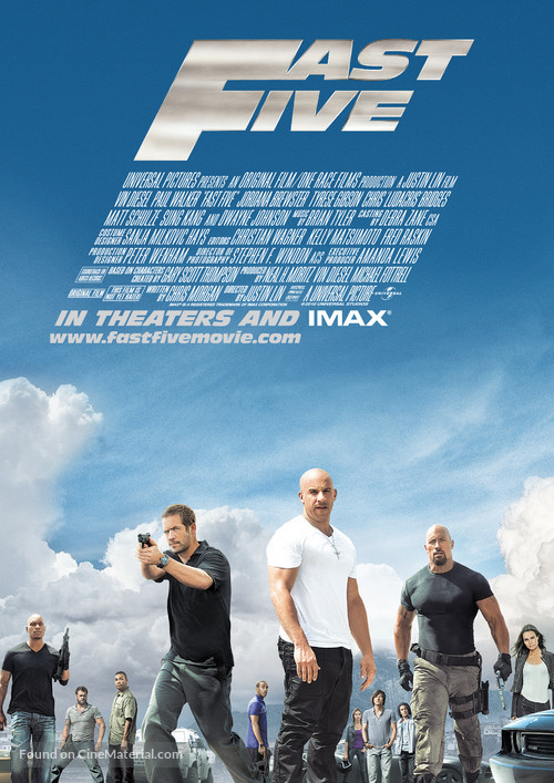 Fast Five - British Movie Poster