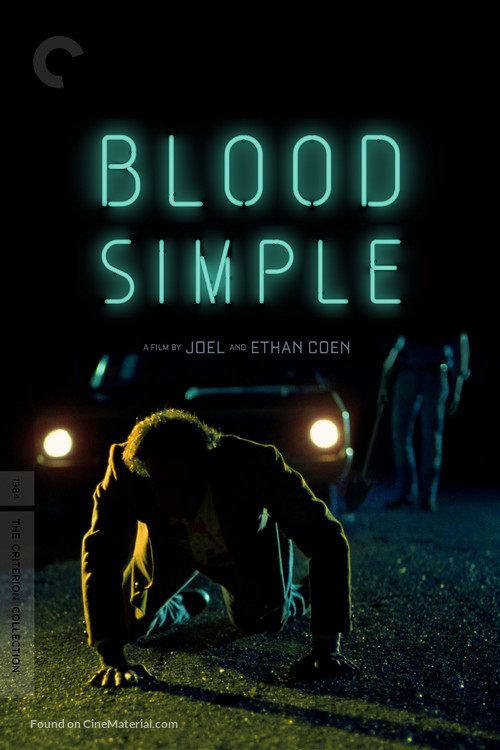 Blood Simple - Movie Cover