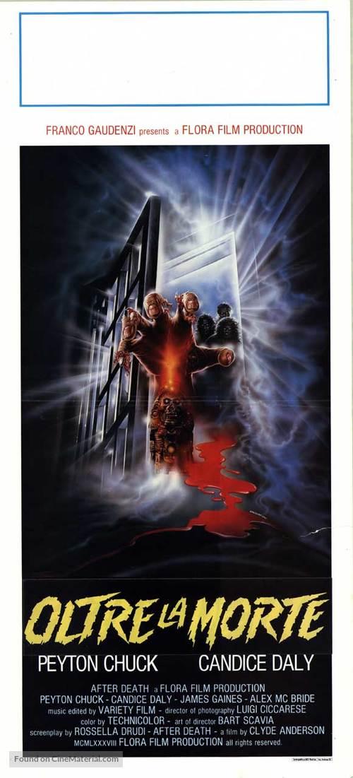 After Death (Oltre la morte) - Italian Movie Poster