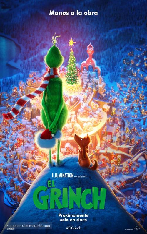 The Grinch - Mexican Movie Poster