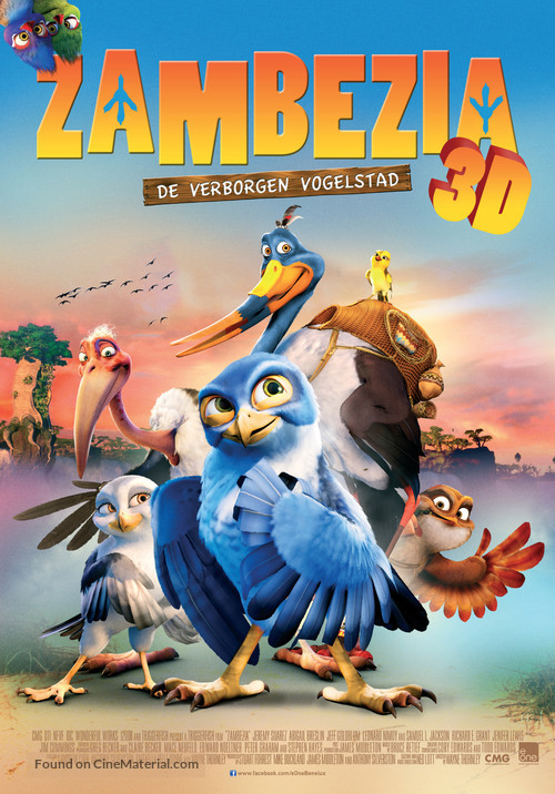 Zambezia - Dutch Movie Poster