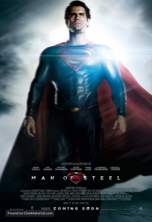 Man of Steel - British Movie Poster