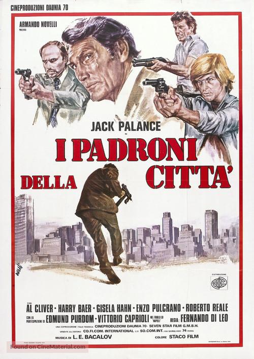 I padroni della città - Italian Movie Poster