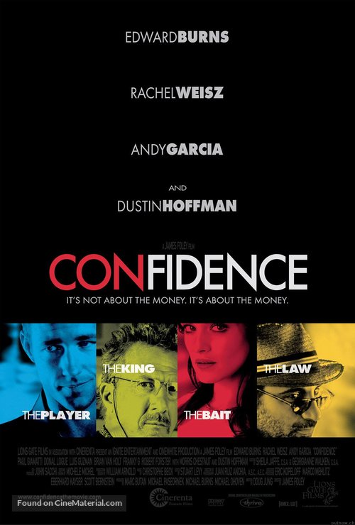 Confidence - Movie Poster