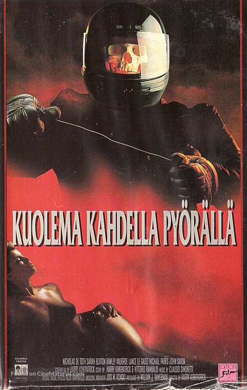 Nightmare Beach - Finnish VHS movie cover