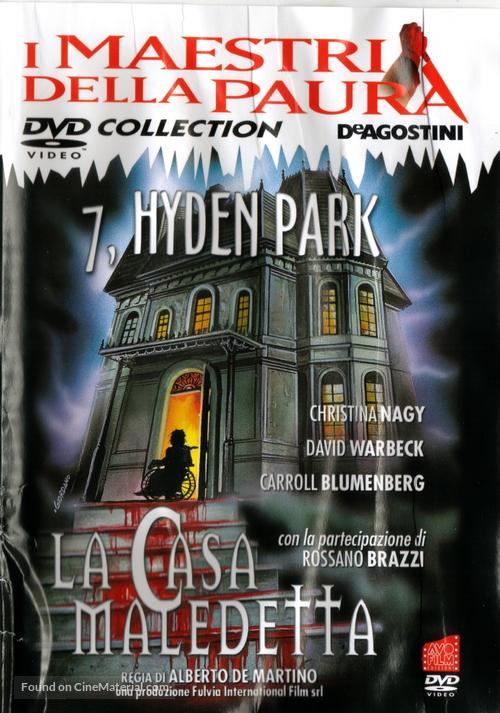 7, Hyden Park: la casa maledetta - Italian DVD cover