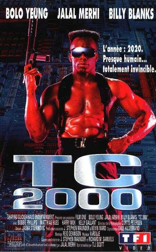 TC 2000 - French VHS movie cover