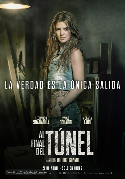 Al final del túnel - Argentinian Movie Poster