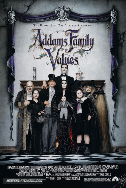 Addams Family Values - Movie Poster