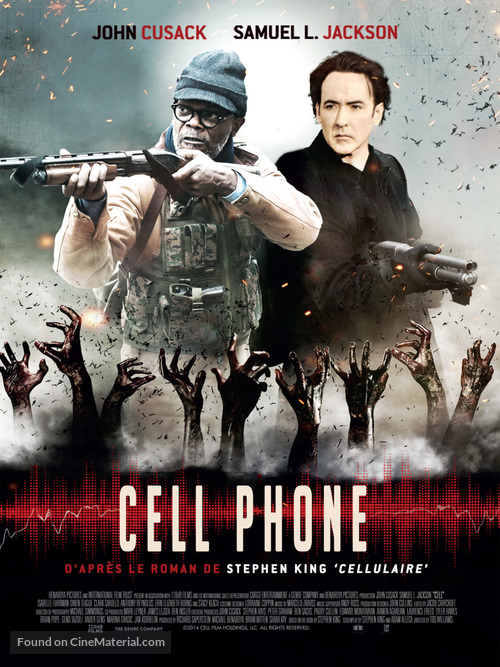Cell - French Movie Poster