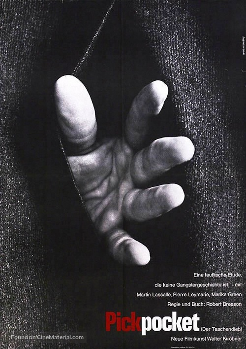 Pickpocket - German Movie Poster