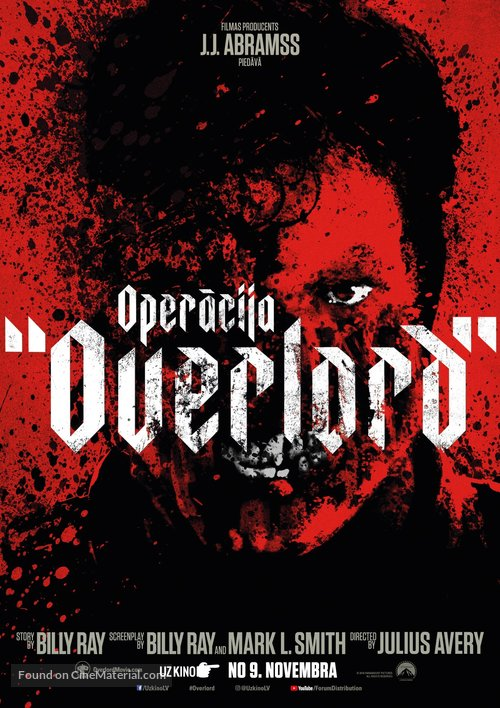 Overlord - Latvian Movie Poster