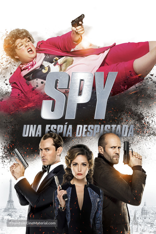 Spy - Argentinian Movie Poster