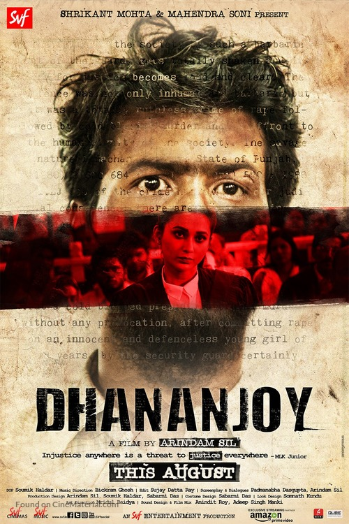 Dhananjay - Indian Movie Poster