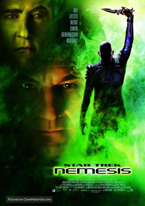 Star Trek: Nemesis - German Movie Poster