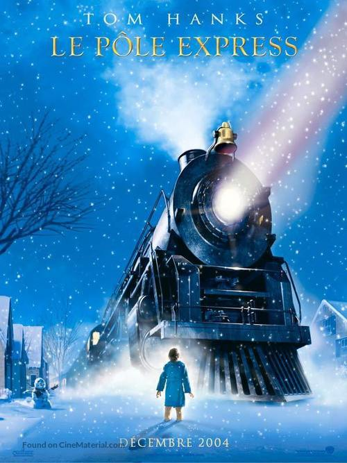 The Polar Express - French Teaser movie poster