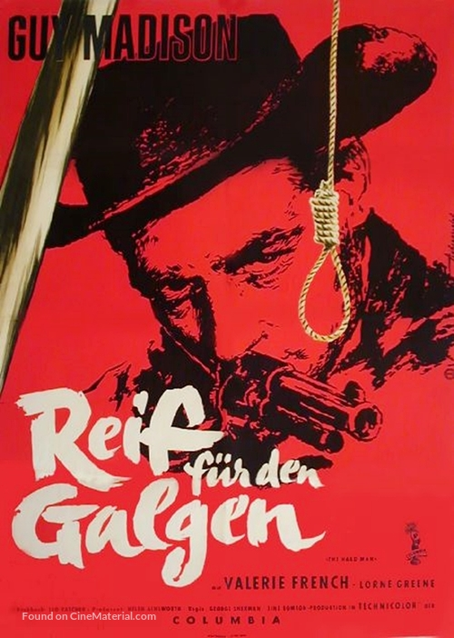 The Hard Man - German Movie Poster