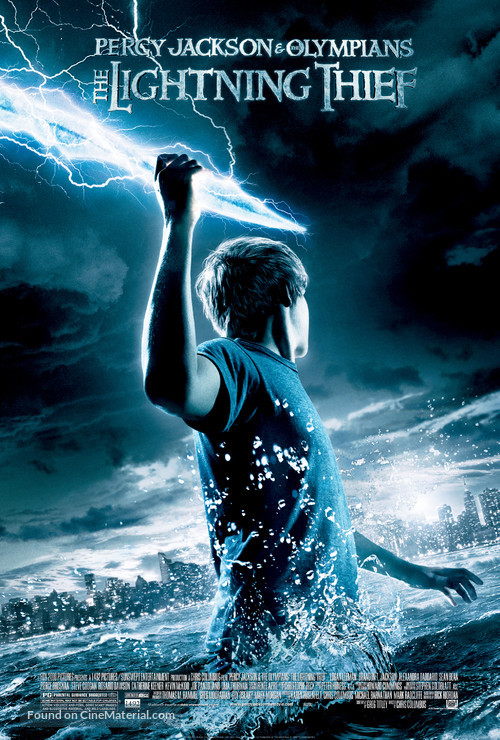 Percy Jackson & the Olympians: The Lightning Thief - Movie Poster