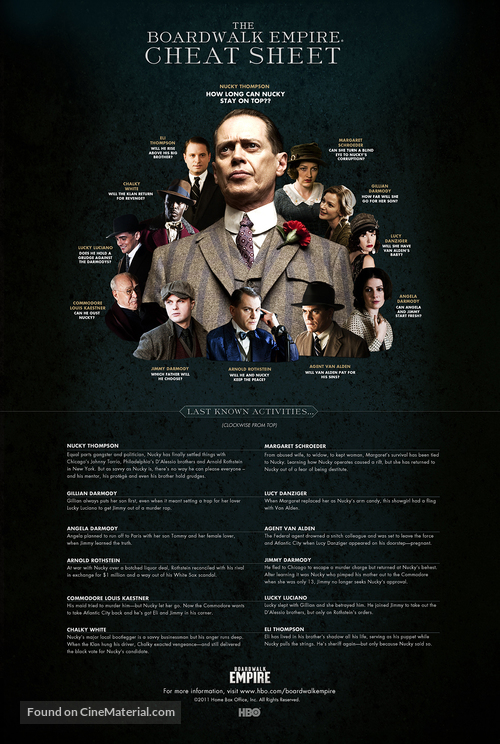 """Boardwalk Empire"" - Movie Poster"