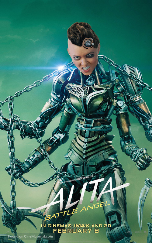 Alita: Battle Angel - British Movie Poster