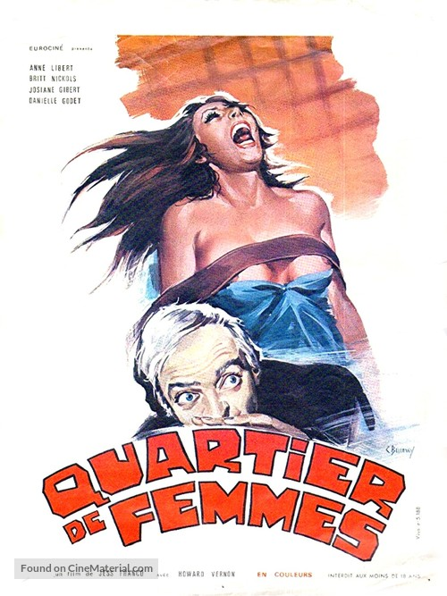 Quartier de femmes - French Movie Poster