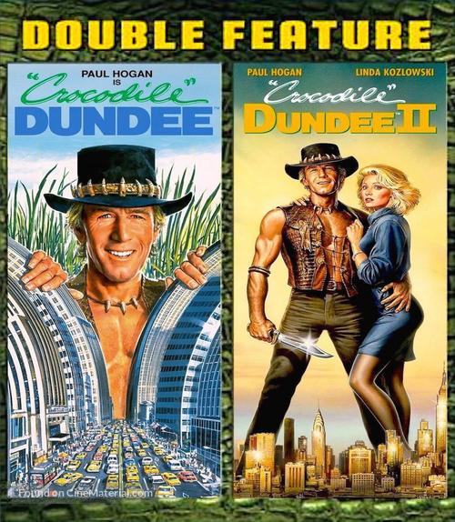 Crocodile Dundee - Blu-Ray cover