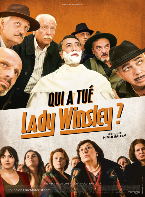Lady Winsley - French Movie Poster
