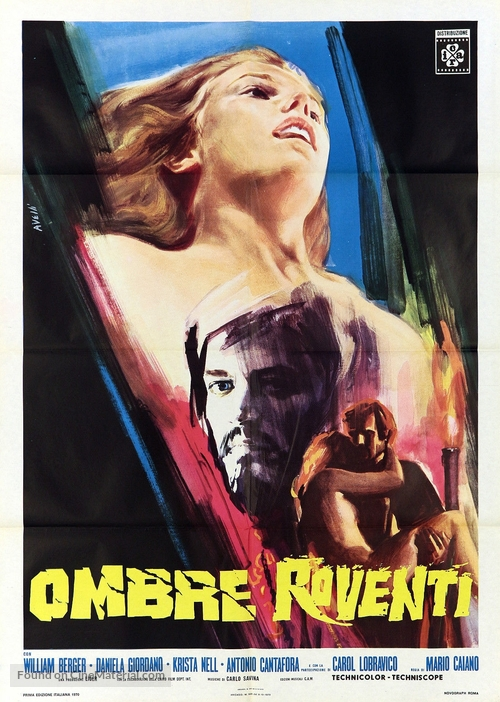 Ombre roventi - Italian Movie Poster