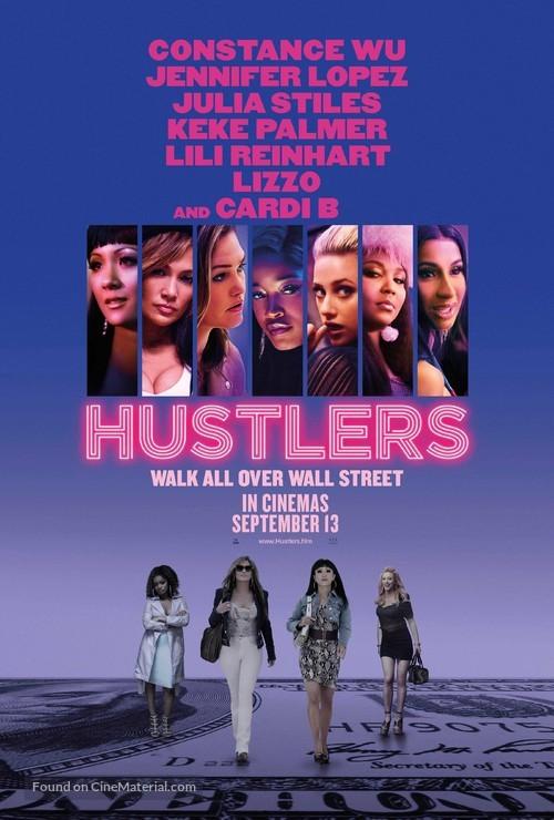 Hustlers - British Movie Poster