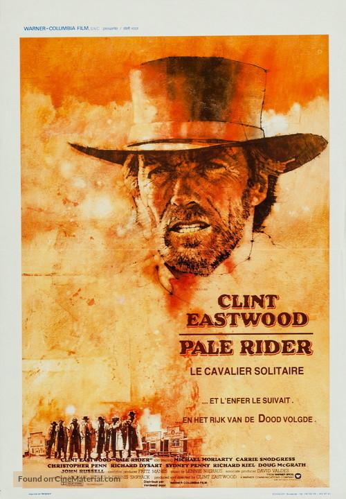 Pale Rider - Belgian Movie Poster