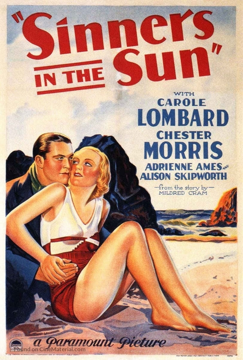 Sinners in the Sun - Movie Poster