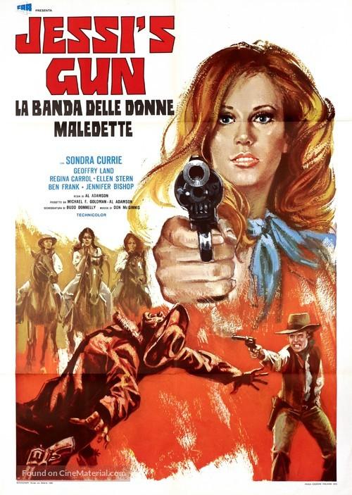 Jessi's Girls - Italian Movie Poster