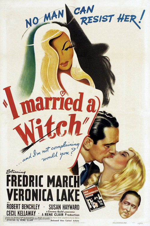 I Married a Witch - Movie Poster