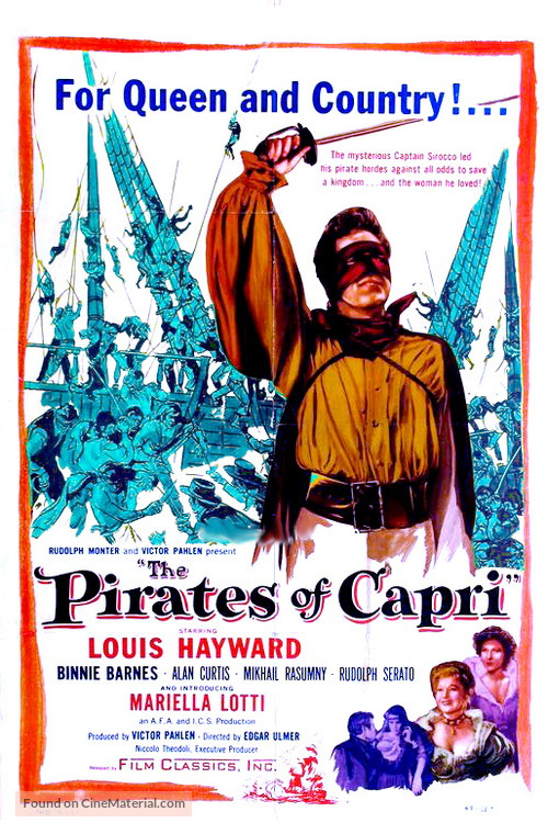 I pirati di Capri - Movie Poster