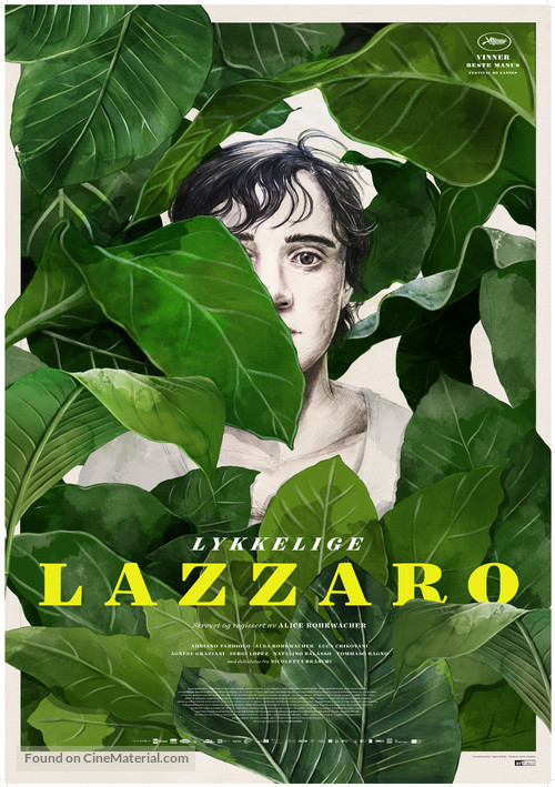 Lazzaro felice - Norwegian Movie Poster