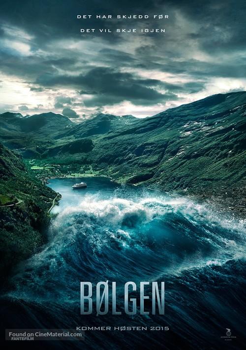 Bølgen - Norwegian Movie Poster
