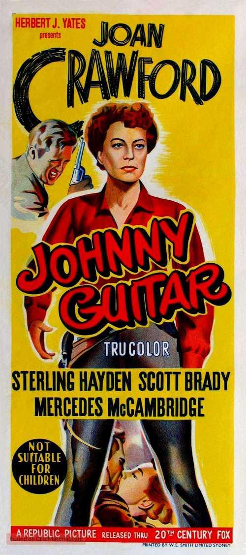 Johnny Guitar - Australian Movie Poster