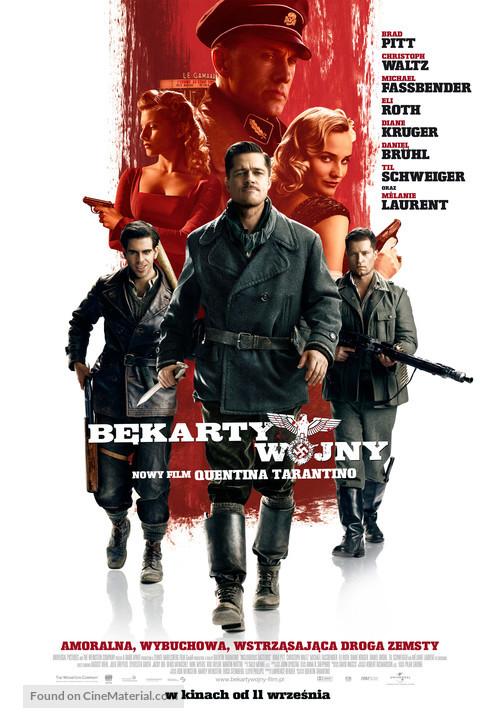 Inglourious Basterds - Polish Movie Poster