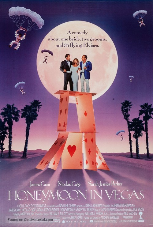Honeymoon In Vegas - Movie Poster