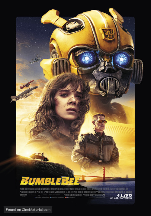 Bumblebee - Finnish Movie Poster