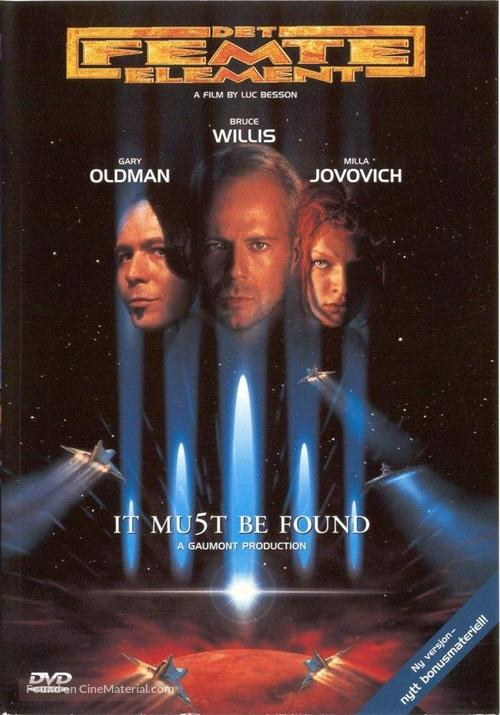 The Fifth Element - Swedish DVD cover